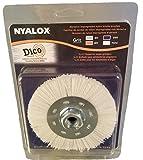 Dico 4.5' white Nyalox Brush, 4.5', White