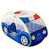 Anyshock Playhouse for Kids Tent, Police Car Tent for 1-6 Year Old Children Foldable Pop Up Play House Toddler...