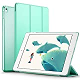 iPad pro 9.7 inch Case, ESR Smart Case Cover [Synthetic Leather] Translucent Frosted Back Magnetic Cover with Auto Sleep/Wake Function [Light Weight] (Mint Green)