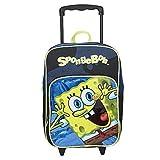 Nickelodeon Little Boys' SpongeBob Rolling Backpack, Multi, Toddler Size