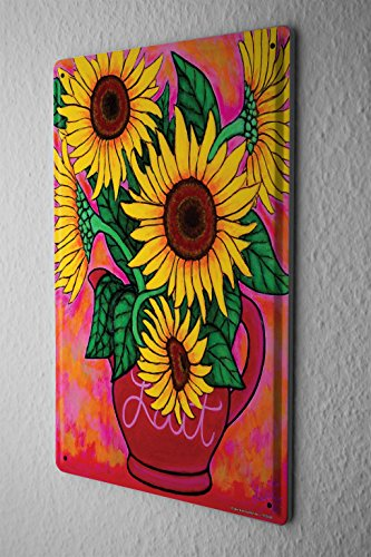 Bright, Bold and Charming Sunflower Wall Decorations | Home Wall Art ...
