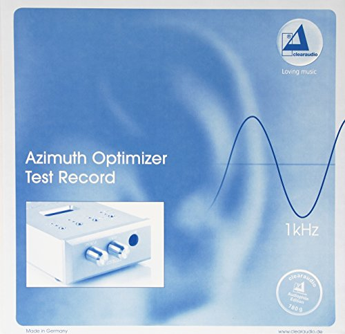 Clearaudio Azimuth Optimizer Test Record LP-ideal for use w/Fosgate Fozgometer