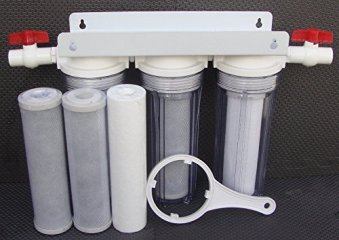 """10"""" Whole House 3 stage filtration water system"""