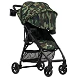 ZOE XL1 Best v2 Lightweight Travel & Everyday Umbrella Stroller System (Camo)