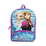 Disney Frozen Elsa and Anna Purple 16 Inch Backpack School Bag