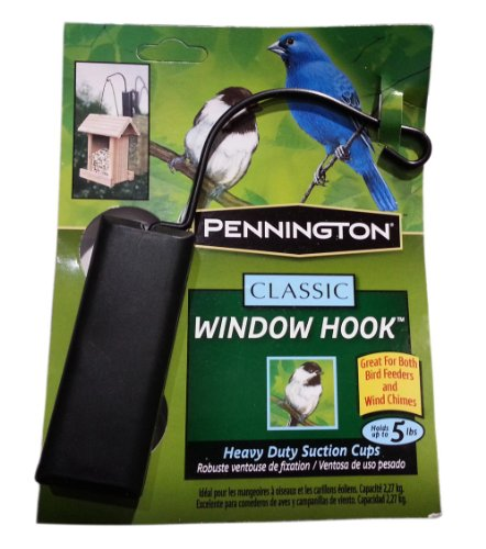 Pennington Classic Window Hook Used for Bird Feeder
