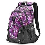 High Sierra Loop Backpack, Rainforest/Black