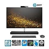 HP Envy 27 All-in-One Core i7-8700T 16GB 2TB HD 27' QHD Touchscreen GTX1050 4GB (Renewed)