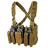 Condor Recon Chest Rig Coyote, Brown, 30' - 60'