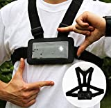 Use Your Mobile Phone as Action Camera Body Chest Mount Harness Strap Mobile Phone Holder Used for Action Sports (Samsung, iPhone Etc)