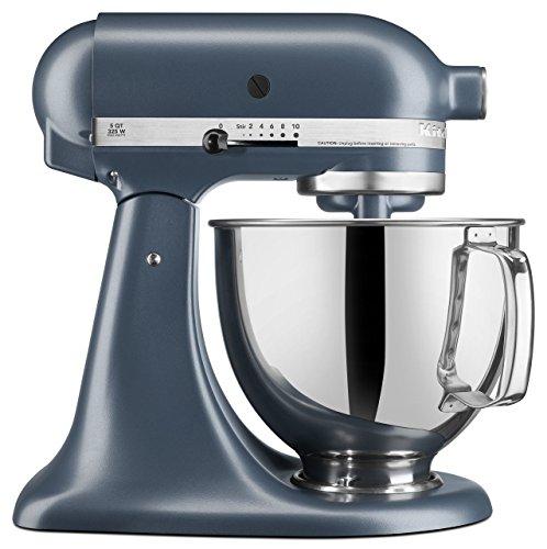 Blue Steel Kitchenaid Artisan Series 5 Qt Stand Mixer
