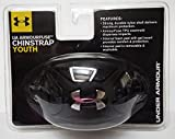 Under Armour Youth Ua Armourfuse Chin Strap Ii 002.BLACK/BLACK/SIL OSFA