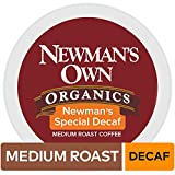 Newman's Own Organics Keurig Single-Serve K-Cup Pods Newman's Special Blend Decaf Medium Roast Coffee, 72 Count (6 Boxes of 12 Pods)