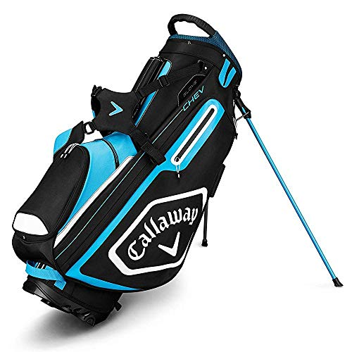 Callaway Golf 2019 Chev Stand Bag, Black/Blue/White