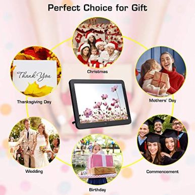 8-Inch-Digital-Picture-Frame-1920x1080-IPS-Widescreen-Digital-Video-Photo-Frame-with-100-Brightness-10-Slideshow-Effects-5-Play-Modes-and-Calendar-Alarm-SDUSB-Slots-Black