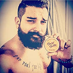 Beard Balm Conditioner for Men - Wild Willie's Beard Butter - Amazing Beard Balm with 13 Natural Locally Sourced Ingredients to Condition and Treat Your Beard or Mustache at The Same Time.  Image 2