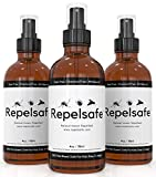 Tick Repellent For Humans & Natural Bug Spray For Kids By RepelSafe - Bug Repellent Spray For Ticks, Mosquitoes, Fleas, Flies, Gnats, Etc. Natural Bug Repellent Bug Spray For Kids Travel Size (1, 4oz)