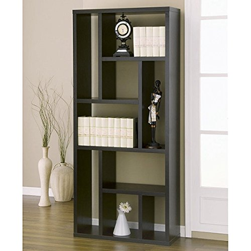 Entertainment Stand With Bookshelves