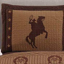 Wild Horse Country 3-pc Quilt Set