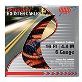 Lifeline AAA 4326AAA Heavy Duty 16' 6 Gauge Booster Cable