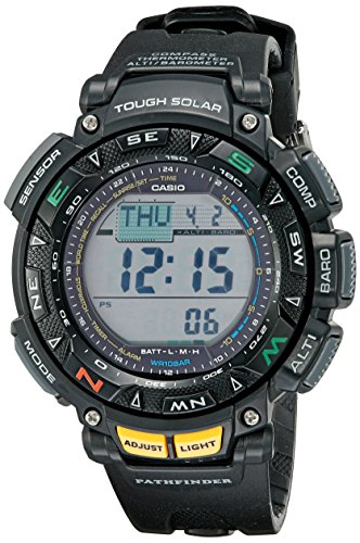 Casio Men's Pathfinder PAG240-1CR Solar Powered Triple Sensor Sport Watch