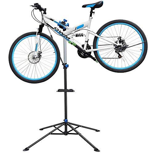 Yaheetech Bicycle Pro Mechanic Bicycle Repair Workshop Stand Rack Bike Repair Stand