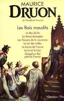 Les rois maudits Couverture du livre
