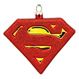 Hallmark Superman Shield Christmas Ornament