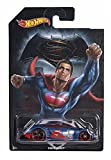 Hot Wheels 2016 Covelight Batman vs Superman DC Comics Exclusive Blue 4/7, Long Card by Mattel