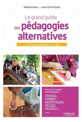 """Résultat de recherche d'images pour """"le guide des pédagogies alternatives"""""""
