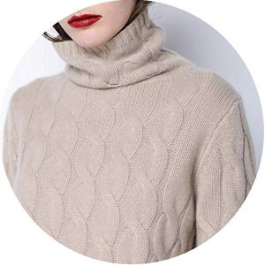 world-palm Thick Soft Cashmere Elastic Sweaters and Pullovers Women Autumn Winter Sim Sweater