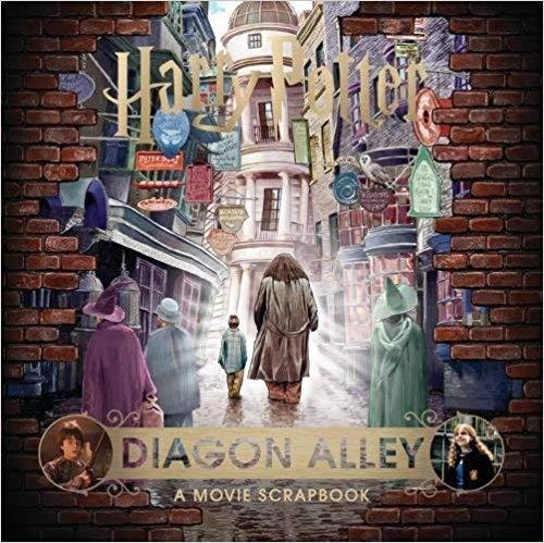 [By Warner Bros ] Harry Potter – Diagon Alley: A Movie Scrapbook (Hardcover)【2018】by Warner Bros (Author) (Hardcover)