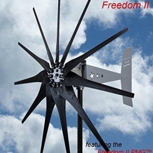 2000 Watt 11 Blade Missouri General Freedom II Wind Turbine