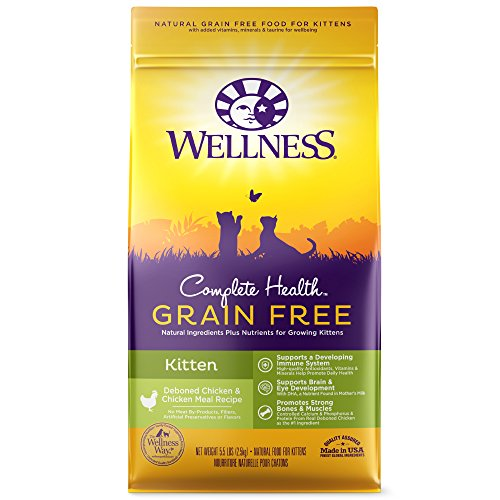 Wellness Complete Health Natural Grain Free Kitten Food