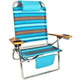 Big Fish Hi-Seat Aluminum Folding Beach Chair - Tribal Sunset