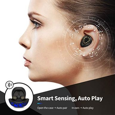 Axloie-True-Wireless-Earbuds-Bluetooth-50-Headphones-with-Colorful-Charging-Case-in-Ear-Detection-Auto-Play-IPX6-Waterproof-TWS-Stereo-Headphones-Built-in-Mic-Wireless-Earphone-for-Sport