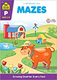 School Zone - Mazes Workbook - Ages 3 to 5, Preschool to Kindergarten, Fine Motor Skills, Attention to Detail, Observation, Illustrations and More (School Zone Get Ready!TM Book Series)