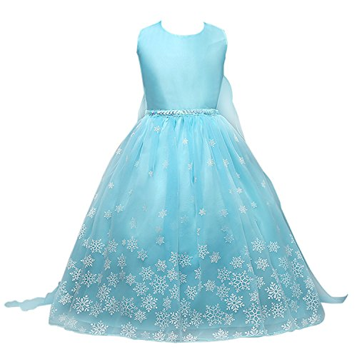 Snowflakes Princess Elsa Dress