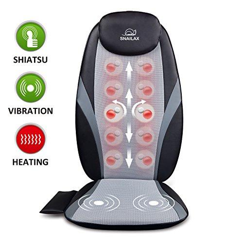 Snailax Shiatsu Massage Cushion with...