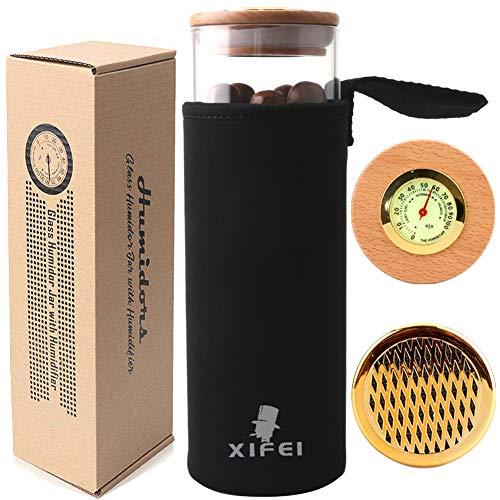 XIFEI Travel Cigar Case Humidor Jar