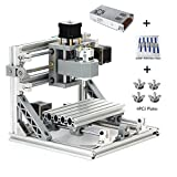 MYSWEETY CNC Machine, DIY CNC Router Kits 1610 GRBL Control Wood Carving Milling Engraving Machine (Working Area 16x10x4.5cm, 3 Axis, 110V-240V)