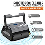 AIPER Automatic Robotic Pool Cleaner with Tangle-Free Swivel Cord and Extra-Large Top Load Filter Basket,...