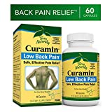 Terry Naturally Curamin Low Back Pain - 60 Vegan Capsules - Targeted Relief Supplement, Supports Healthy Cartilage & Comfort - Non-GMO, Gluten-Free - 20 Servings