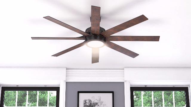 Honeywell-Ceiling-Fans-50609-01-Xerxes-Ceiling-Fan-62-Oil-Rubbed-Bronze