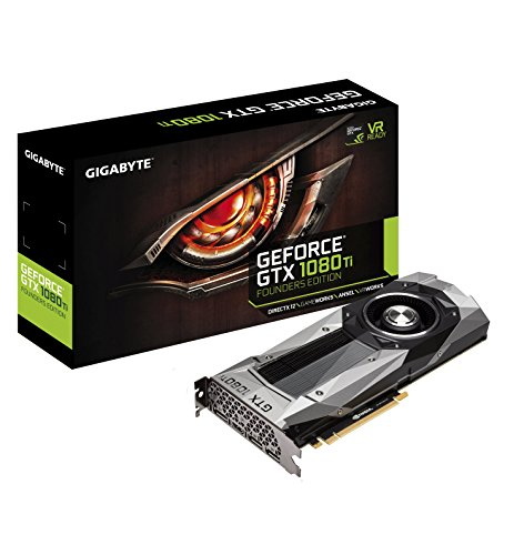 Gigabyte Geforce GTX 1080 Ti Founders Edition TV Tuners & Video Capture GV-N108TD5X-B