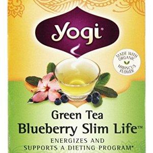 Yogi Tea, Green Tea Blueberry Slim Life, 16 Count 48