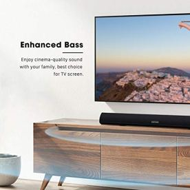 Soundbar-MEGACRA-TV-Sound-Bar-with-Dual-Bass-Ports-Wired-and-Wireless-Bluetooth-50-Home-Theater-System-28-Inch-Enhanced-Bass-Technology-3-Inch-Drivers-Bass-Adjustable-Wall-Mountable-Dsp