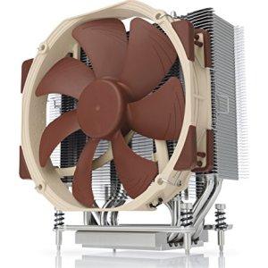 Noctua NH-U14S TR4-SP3, Premium-Grade CPU Cooler for AMD sTRX4/TR4/SP3 (140mm, Brown)