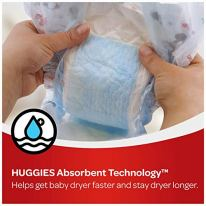 Huggies Snug & Dry Baby Diapers One Month Supply White Size 1 (256 Count) 5