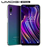 UMIDIGI Mobile One 5.9' 32GB Unlocked Android 8.1 Cell Phone - 4GB Ram Dual-SIM 4G LTE - 16MP Selfie,12MP +5MP Dual Camera - 3550mAh Battery,Side Fingerprint ID Smartphones (Black)